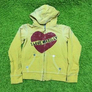 True Religion Girls Ombré Yellow Sweater